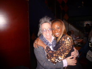 Jeffrey Gurian with Ann Sekyiwah at Carolines!
