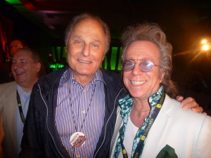 Jeffrey Gurian with Budd Friedman in Montreal at the Just for Laughs Festival's celebration in honor of 50 years of The Improv., July 2013!