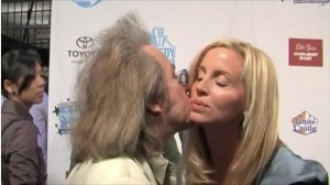 Jeffrey Gurian and Camille Grammer on the Comedy Central red carpet for Night of Too Many Stars!