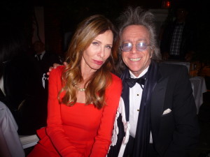 Jeffrey Gurian with Carole Radziwill at her 50th birthday party!