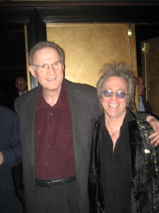 Jeffrey Gurian with one of his idols Charles Grodin!
