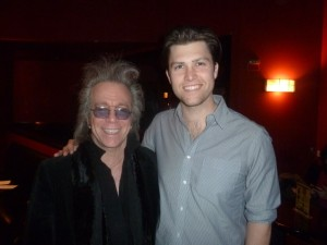 Jeffrey Gurian with SNL Weekend Update anchor Colin Jost at a comedy show at Gotham Comedy Club in NYC!