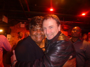 Colin Quinn and Georgia O'Neal, Patrice's Mom!