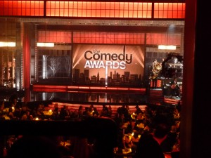 The beautiful Comedy Central Awards stage at Hammerstein Ballroom.