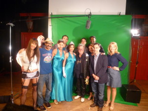 The cast of Cult Comedy Pictures at The PIT for the RHONY shoot!