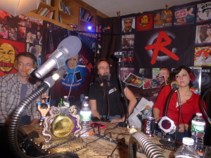 Dan Soder, Joe List and Kelly Fastuca around the YKWD roundtable!