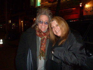 Jeffrey Gurian with comic extraordinaire Elayne Boosler at a Diabetes fundraiser she performed in produced by Jeffrey!