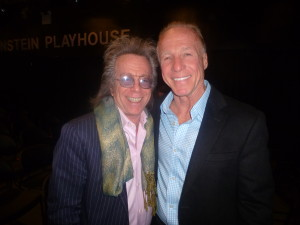 Jeffrey Gurian with Jackie Martling at the Gold Coast International Film Festival!