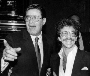 Jeffrey Gurian with Jerry Lewis at the Jerry Lewis Roast in 1986!
