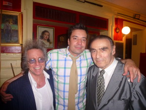 Jeffrey Gurian, Jimmy Fallon and Brute Force hanging out at The Players Club!