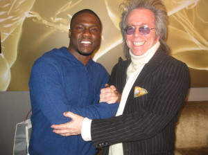 Kevin Hart and Jeffrey Gurian promoting their show at Westbury Theatre back in 2010!