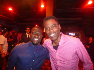Kevin Hart and Chris Rock enjoying the festivities!