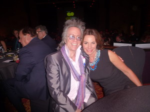 LuAnn DeLesseps and Jeffrey Gurian at a gala Jeffrey produced in honor of Susie Essman!
