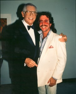 Jeffrey Gurian and Milton Berle at an event where Milton was performing! Circa mid-80's.