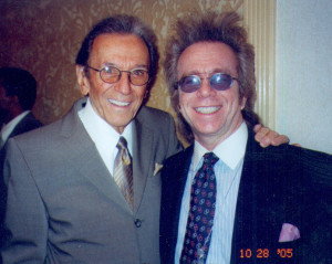 Jeffrey Gurian with Norm Crosby at The Friars Roast of Don King, 2005.