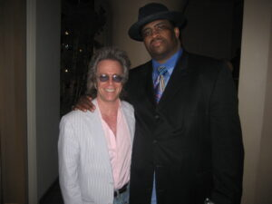 Jeffrey Gurian with his dear friend, the late, great Patrice O'Neal!