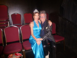 Jeffrey Gurian with Princess Carole Radziwill, who only dressed like a Princess because Jeffrey begged her to!