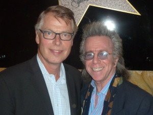 "Jeffrey Gurian with Richard Johnson ex-Mr. Page 6 who now writes ""Richard Johnson- The Man Who KNows New York!""  An understatement if I ever heard one!"