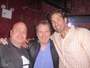 Robert Kelly, Colin Quinn and Gary Gulman backstage for Keith Robinson!
