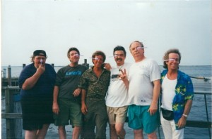 Jeffrey Gurian and his Spoon-Eye Club on an outing, circa 2003!