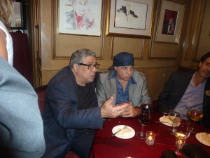 Vinny Pastore and Stevie Van Zandt sitting around at The Friars Club for Jerry Lewis!