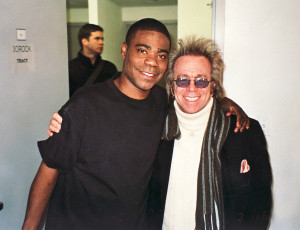 Jeffrey Gurian with Tracy Morgan on the set of 30 Rock!