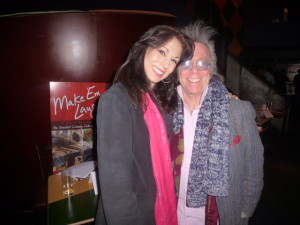 Jeffrey Gurian with radio personality/voice-over specialist Valerie Smaldone!