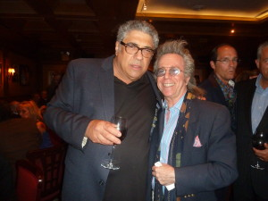 With Vinny Pastore who told me he's excited about his new play!