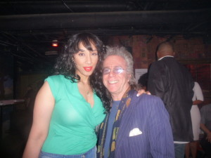 Vondecarlo and Jeffrey Gurian at the after-party for Keith Robinson's show!