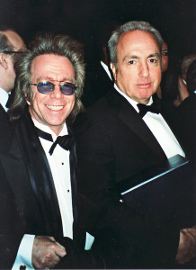 Jeffrey Gurian with Lorne Michaels at a Writers Guild Awards event!